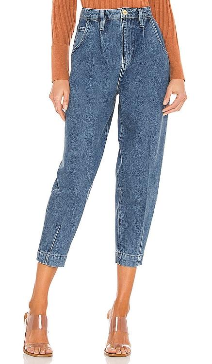 Pleated Barrel Leg Pant FRAME $268 NEW
