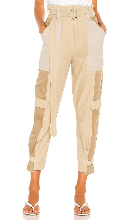 Tonal Blocked Cargo Pant FRAME $345 NEW
