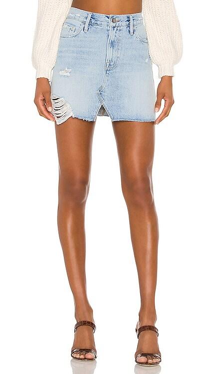 Le Mini Split Front Skirt FRAME $63