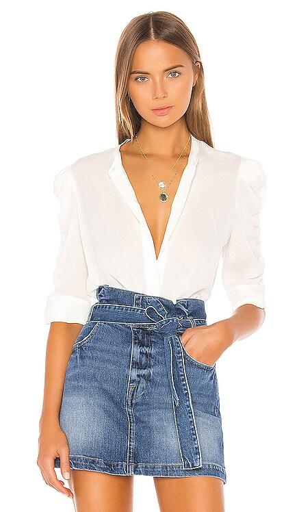 Shirred Sleeve Button Up FRAME $285 BEST SELLER