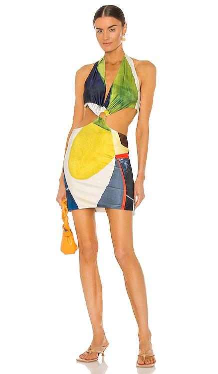 Gaia Mini Dress Farai London $122