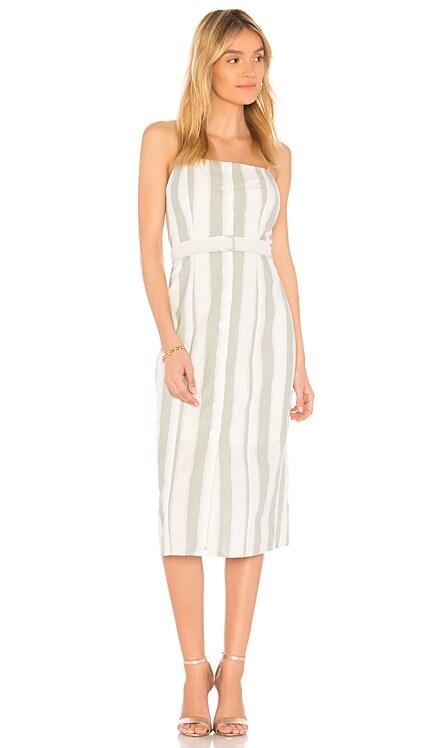 Poetic Stripe Dress The Fifth Label $40