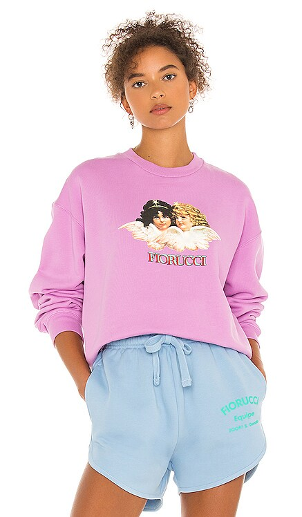Factory Angels Sweatshirt FIORUCCI $170 NEW