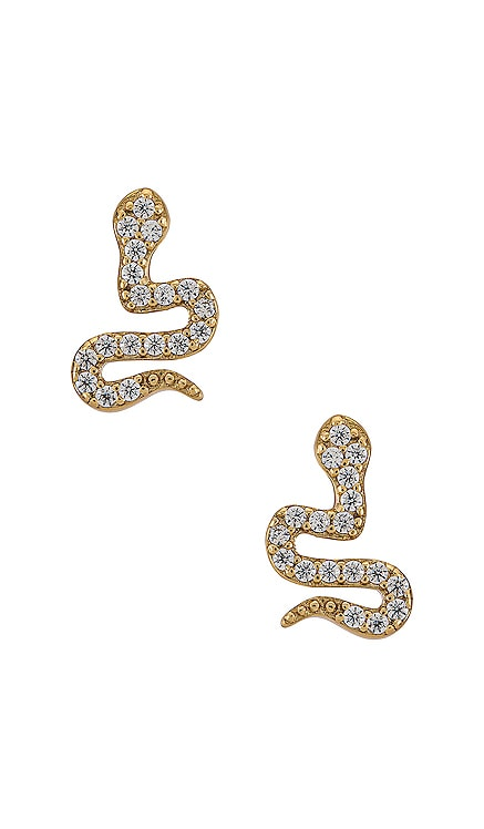 Tyler Gold Plating Earring Five and Two $46 NEW
