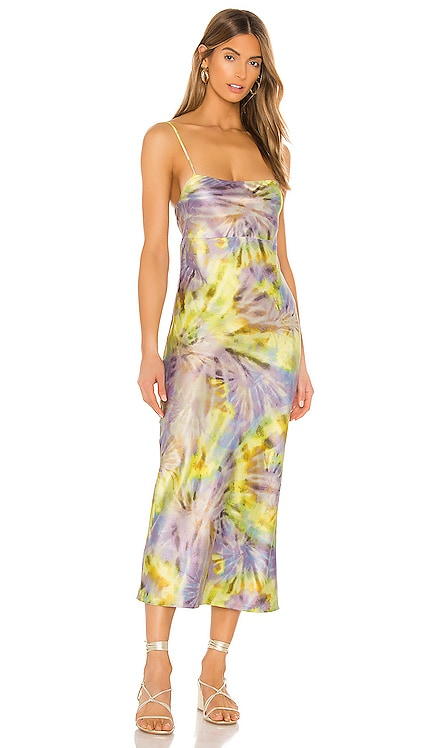 Jackie Slip Dress FLYNN SKYE $156 BEST SELLER