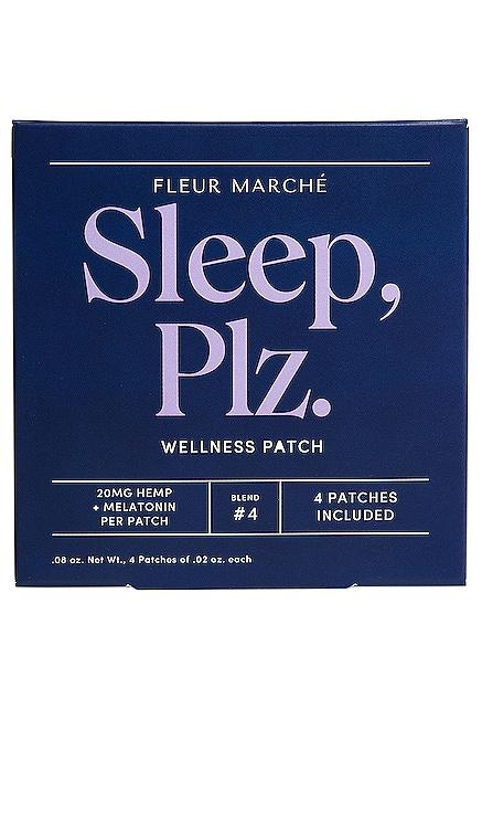 Sleep, Plz CBD Patch 4 Count Fleur Marche $22 BEST SELLER