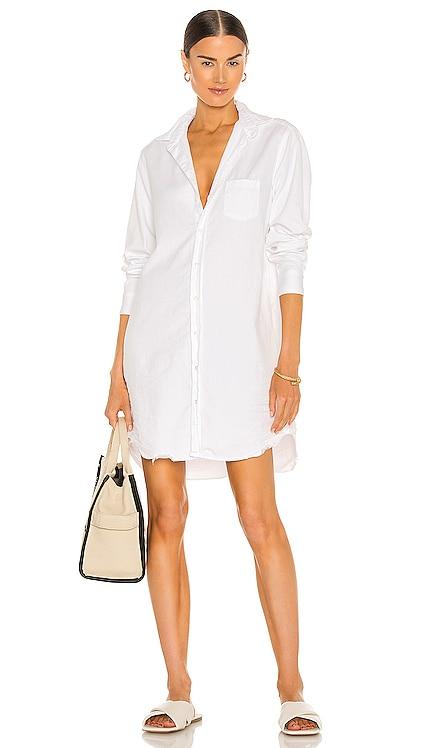 Mary Woven Button Up Dress Frank & Eileen $298 BEST SELLER