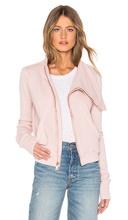 tee lab Side Zip Fleece Jacket Frank & Eileen $173