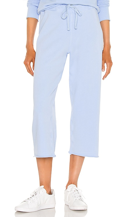 Cropped Wide Leg Sweatpant Frank & Eileen $178 NEW