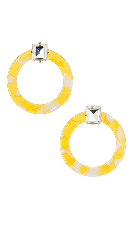 Afton Lucite Earrings For Love & Lemons $31