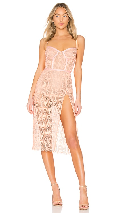 Dakota Lace Midi Dress For Love & Lemons $173