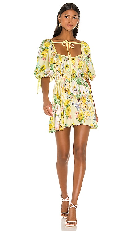 Leigh Floral Mini Dress For Love & Lemons $163 BEST SELLER