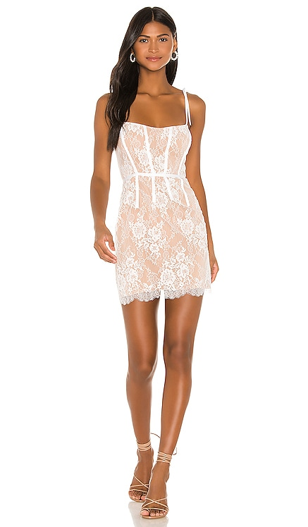Cheyenne Lace Mini Dress For Love & Lemons $216
