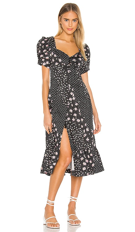 Camellia Maxi Dress For Love & Lemons $227 NEW