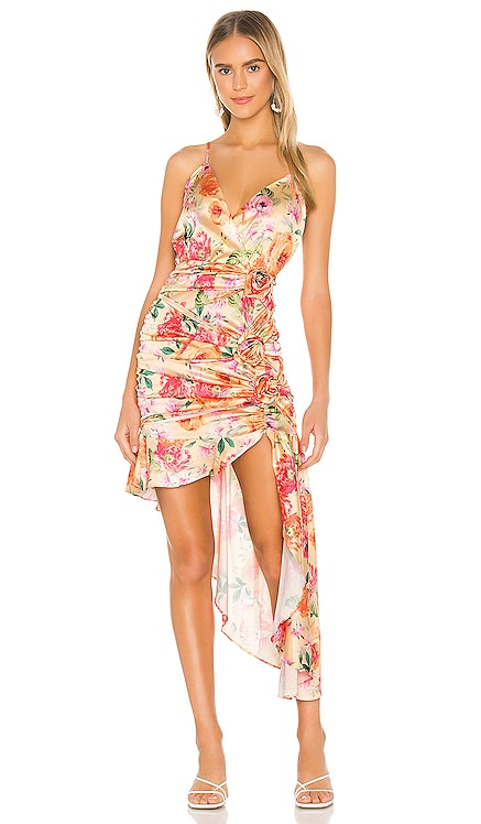 Versilla High Low Dress For Love & Lemons $227 NEW