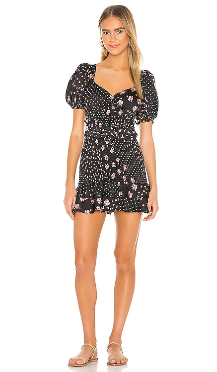 Camellia Mini Dress For Love & Lemons $194 NEW