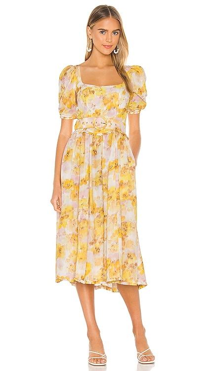 Zinna Midi Dress For Love & Lemons $238