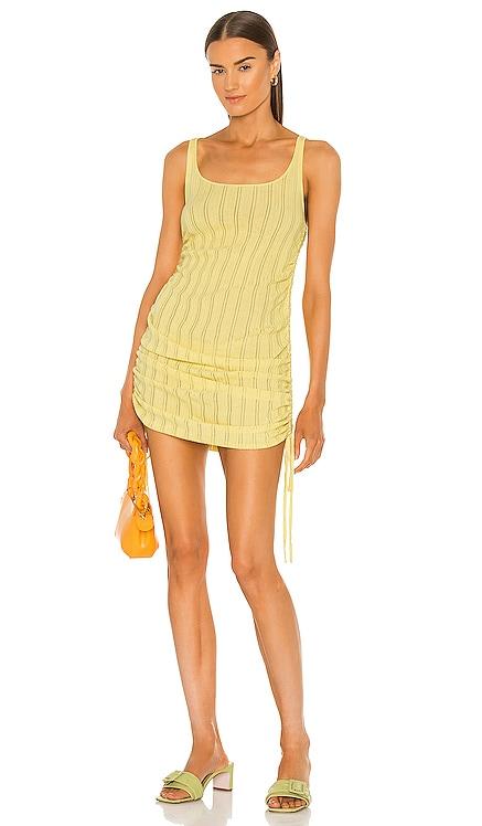 Rhea Pointelle Tank Dress For Love & Lemons $136