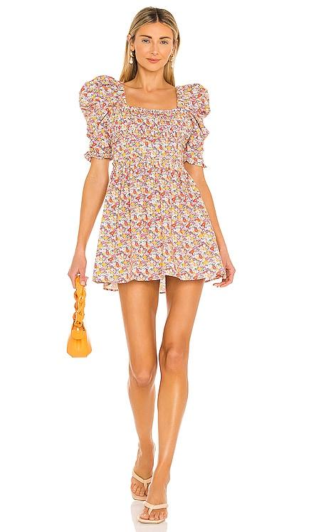Libby Mini Dress For Love & Lemons $246 NEW