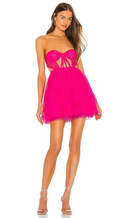 X REVOLVE Bustier Mini Dress For Love & Lemons $286 NEW