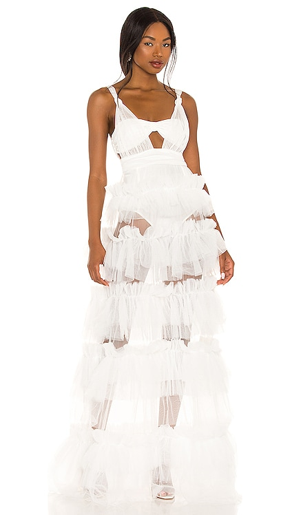 X REVOLVE Tiered Gown For Love & Lemons $352