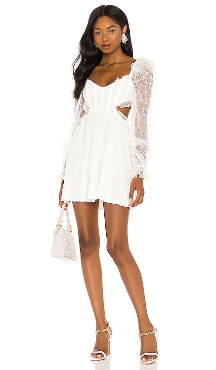 X REVOLVE Cutout Mini Dress For Love & Lemons $268 NEW