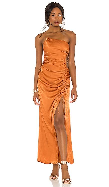 X REVOLVE One Shoulder Slip Dress For Love & Lemons $295 NEW