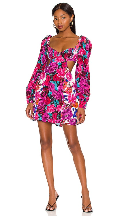 Scarlett Mini Dress For Love & Lemons $231 NEW