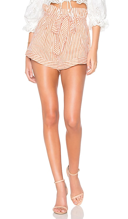 Isla Striped Short For Love & Lemons $41 (FINAL SALE)