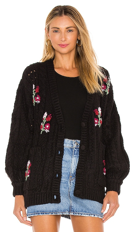 Amaryllis Button Down Cardigan For Love & Lemons $216
