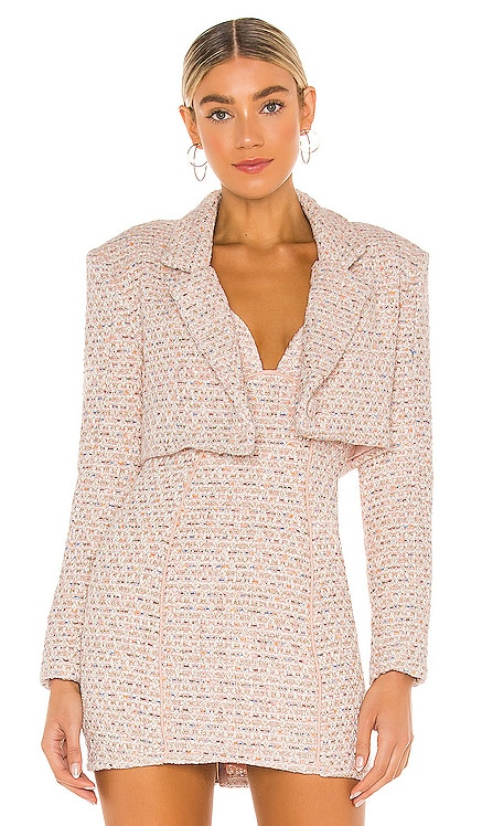 Dionne Cropped Blazer For Love & Lemons $194 NEW