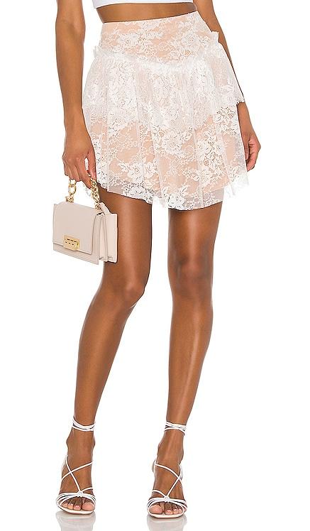 Verbena Lace Mini Skirt For Love & Lemons $73