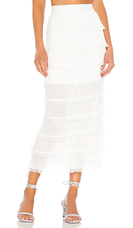 Posie Midi Skirt For Love & Lemons $150 NEW