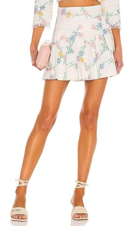 Majorie Mini Skirt For Love & Lemons $165