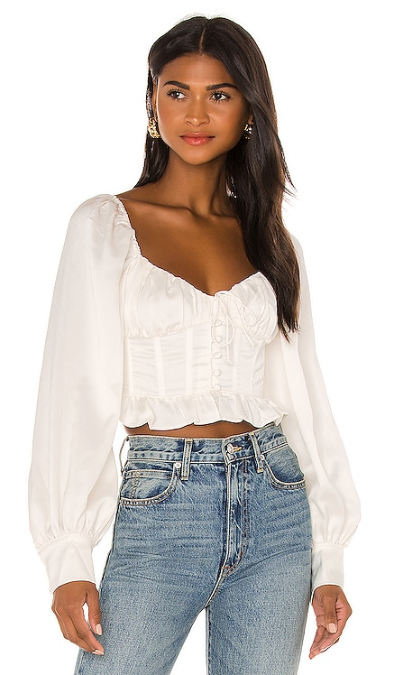 Carina Blouse For Love & Lemons $132 NEW