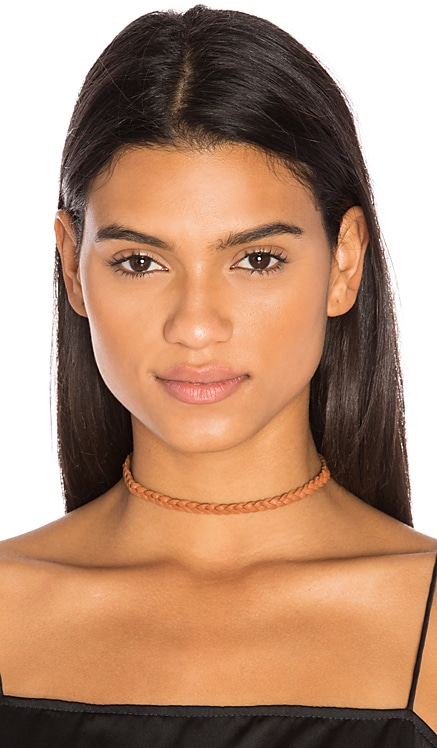 Braided Leather Choker Frasier Sterling $13 (FINAL SALE)