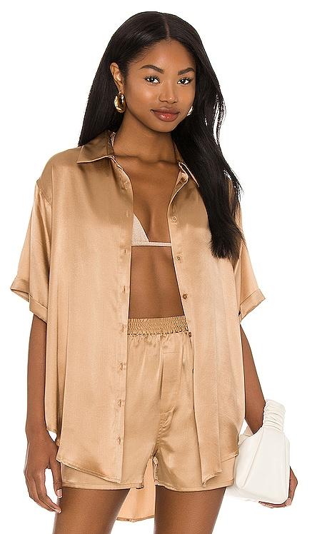 Fifi Silk Top Frankies Bikinis $185