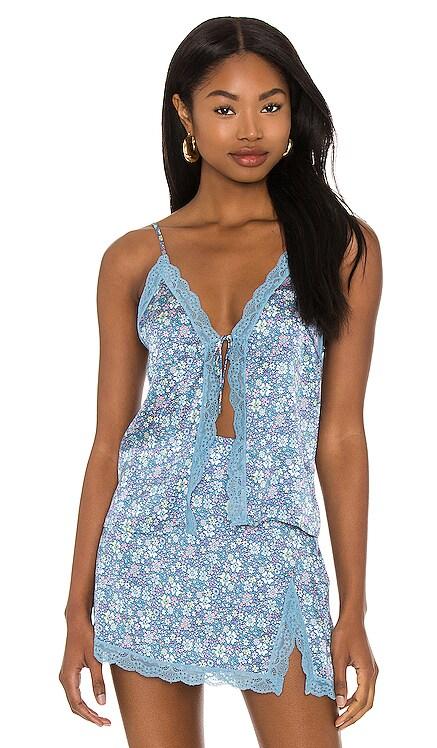 Juliet Lace Cami Frankies Bikinis $165 NEW