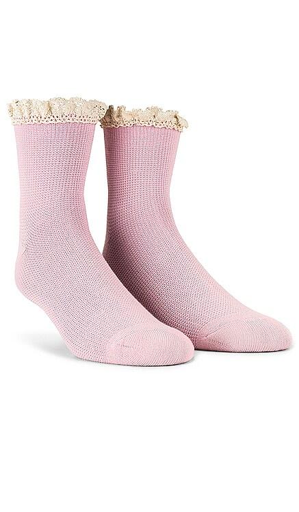 Beloved Waffle Knit Sock Free People $12