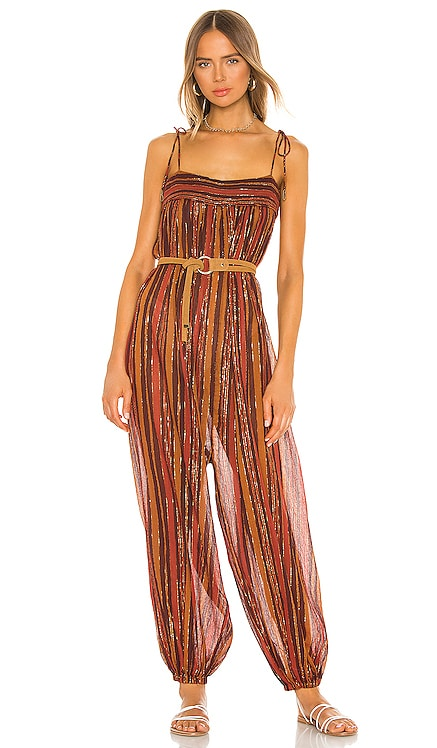 Harem Lurex Jumpsuit Free People $90