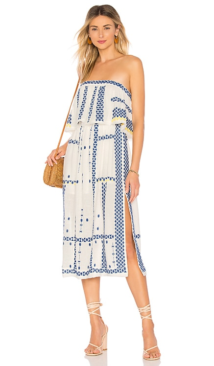 Wild Romance Embroidered Dress Free People $111