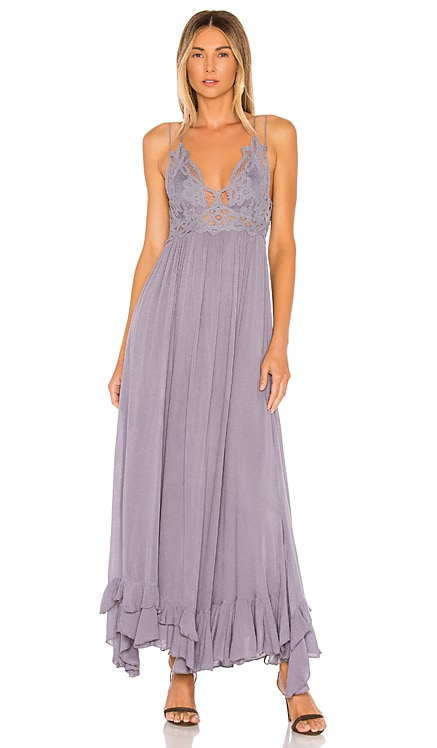 Adella Maxi Slip Dress Free People $128