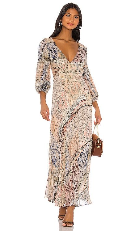 ROBE PATCHWORK MOROCCAN DREAM Free People $228