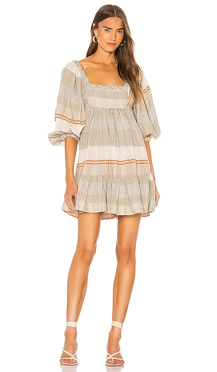 Cozy Striped Mini Dress Free People $148