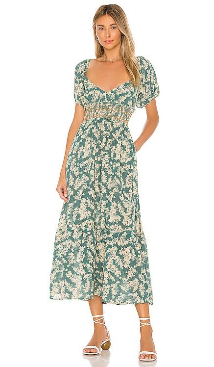 Ellie Printed Maxi Dress Free People $148 BEST SELLER