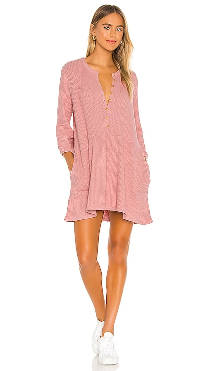 Blossom Button Up Mini Dress Free People $70