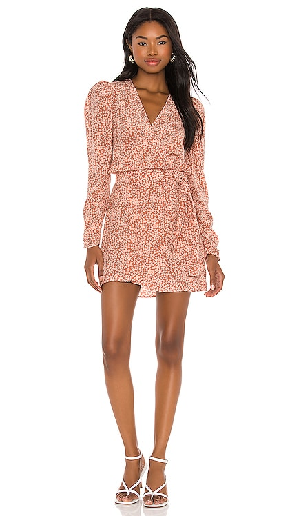 Kinsley Wrap Dress Free People $128