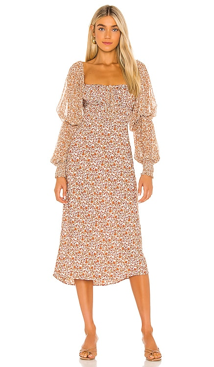 Aglow Midi Dress Free People $168 BEST SELLER