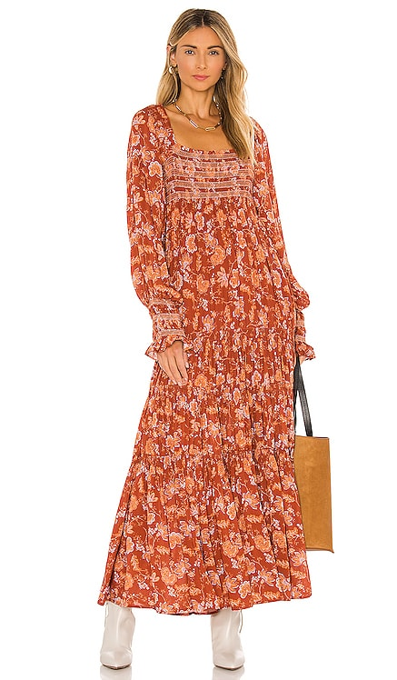Sweet Escape Maxi Dress Free People $168 NEW