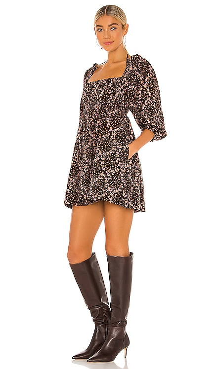 This Is Everything Printed Mini Dress Free People $128